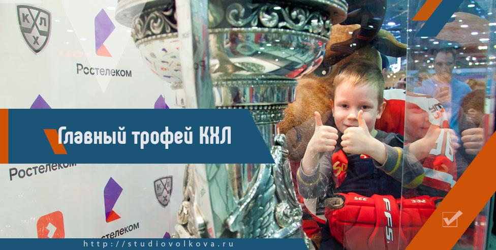 Главный трофей КХЛ.» фотограф Владислав ВОЛКОВ г.Екатеринбург